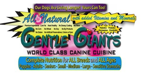 Gentle Giant Dog Food